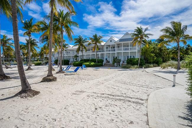 Beachfront units