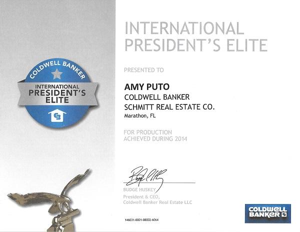 2014 President's Elite Award