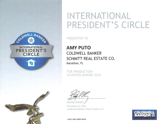 coldwell banker international presidents circle-2015-amy puto-awards