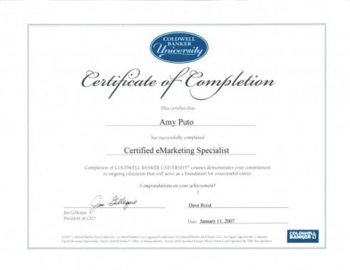 Marathon FL Real Estate Amy Puto Certified E Marketing Specialist