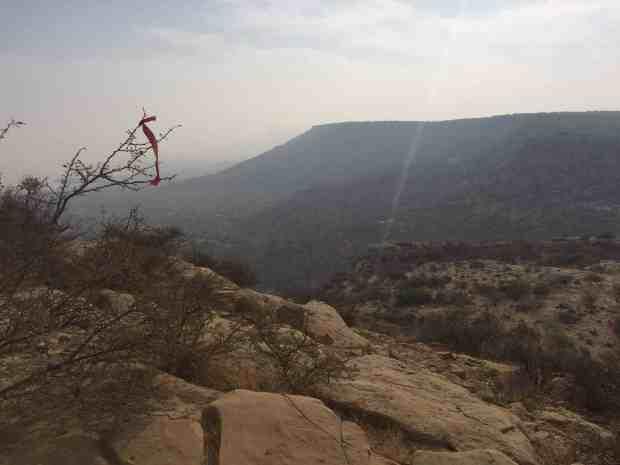 100km, run the rann, cliff top