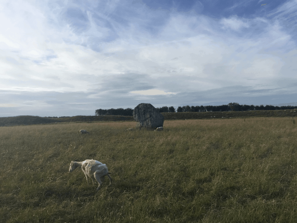 The fabled Avebury Stone Circle
