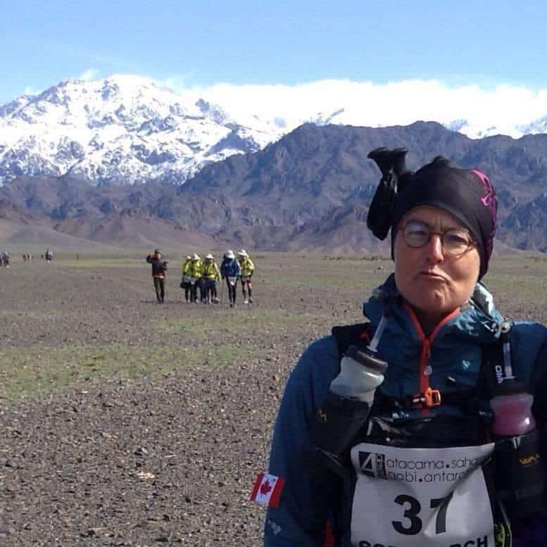 In 2016, Cynthia Fish hopes to become one of the first women to complete the '4 Deserts Grand Slam Plus' - completing all four desert races plus the Roving Race in one calendar year.