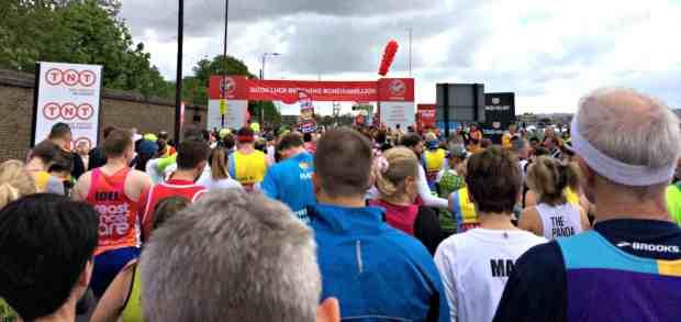 London Marathon Start Line