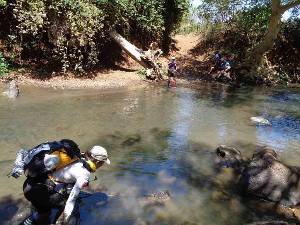 water crossing