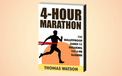 Introducing The Four-Hour Marathon – New Book + Kindle eBook!