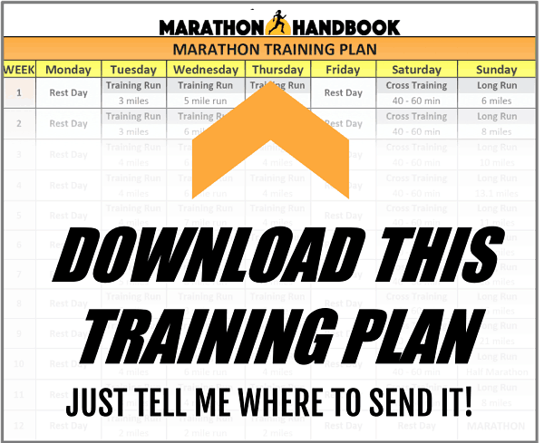6 Month Marathon Training Plan 3