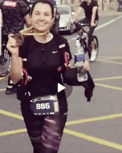 First marathon success! 3