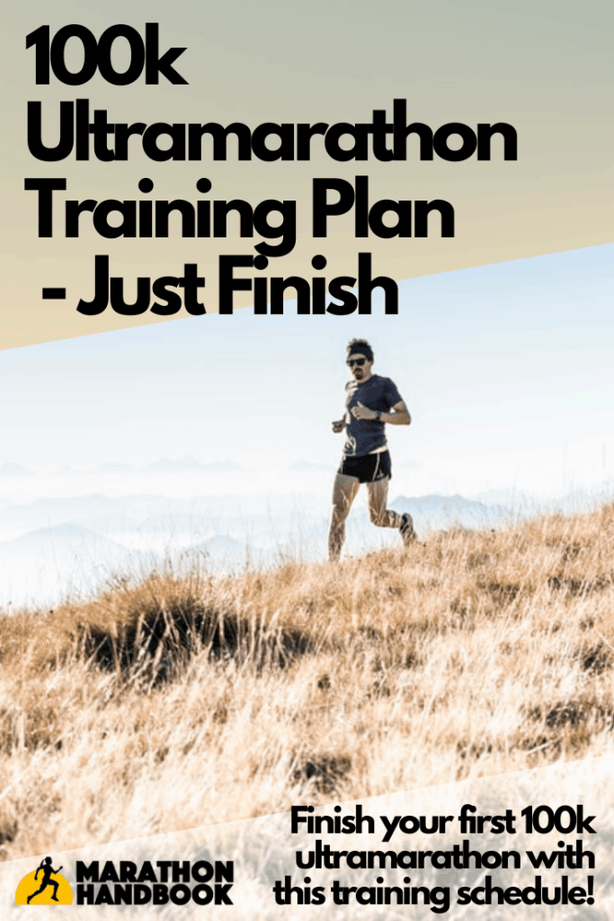 100k ultramarathon training plan - just finish