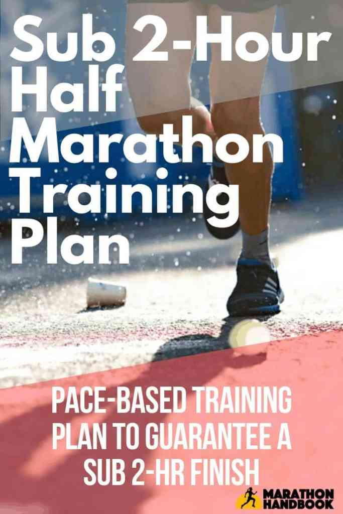 Sub 2 Hour Half Marathon Training Plan