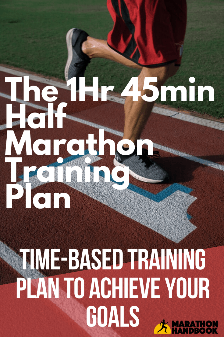 1:45 Half Marathon Training Plan 2