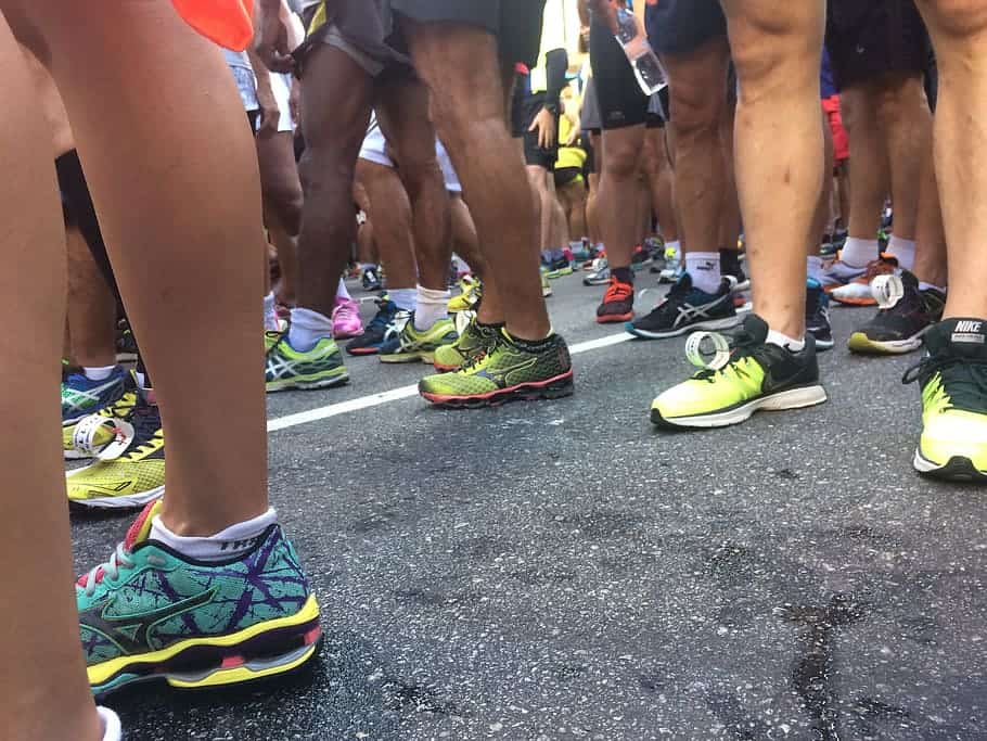 walking a marathon shoes