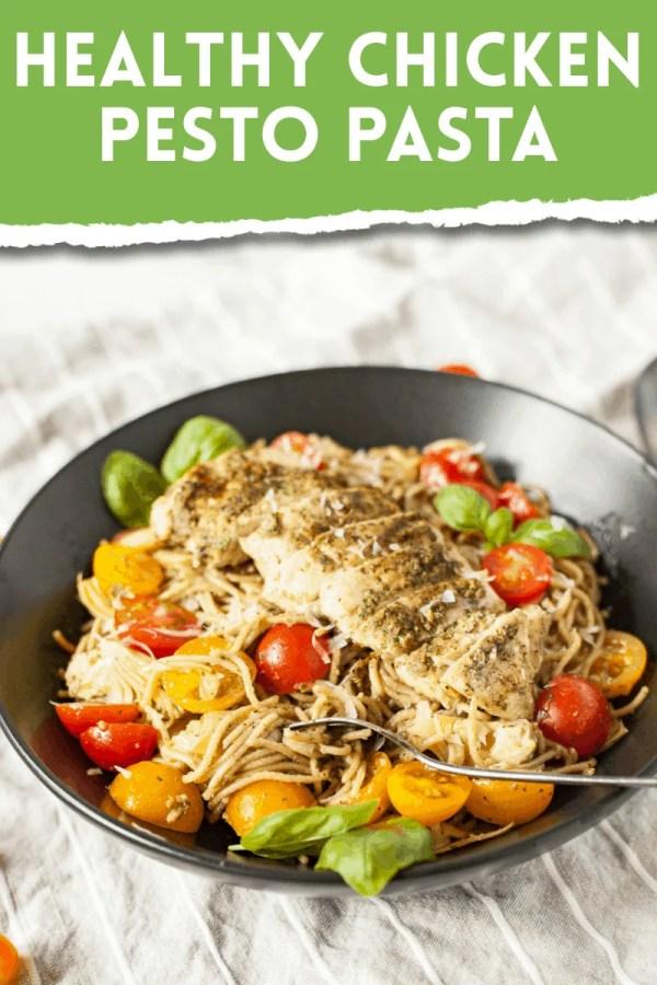 Healthy Chicken Pasta Recipe: Grilled Chicken Pesto Pasta 18