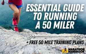 50 mile training plan