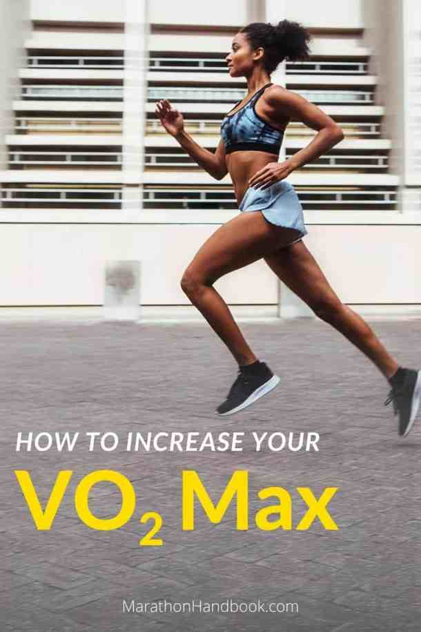 Curious about VO2 max and how it affects your running? We give you the scoop on VO2 max, how to measure it yourself, and ways to increase it so you can run faster. | MarathonHandbook.com #running #fitness #exercise