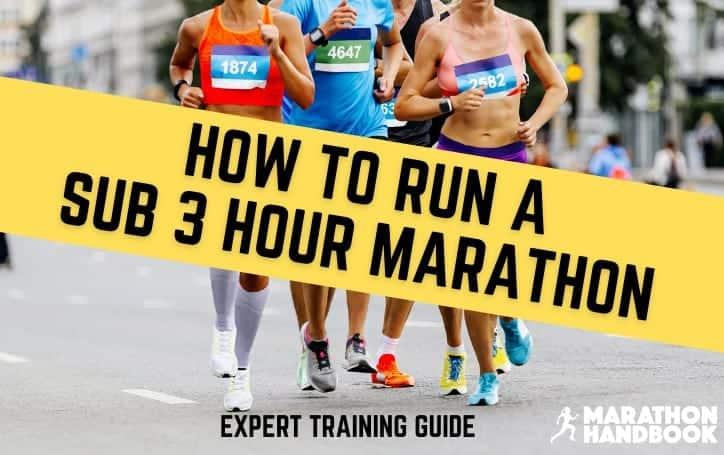 Sub 3 Hour Marathon Featured