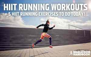 HIIT Running Workout Featured