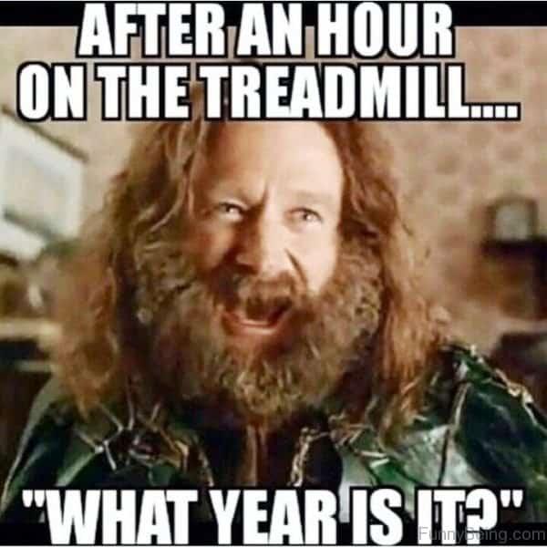 funny running meme treadmill humor