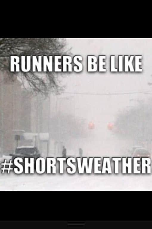 funny running memes rainy weather