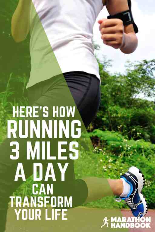 running 3 miles a day