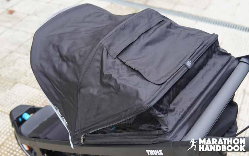 thule urban glide 2 canopy open