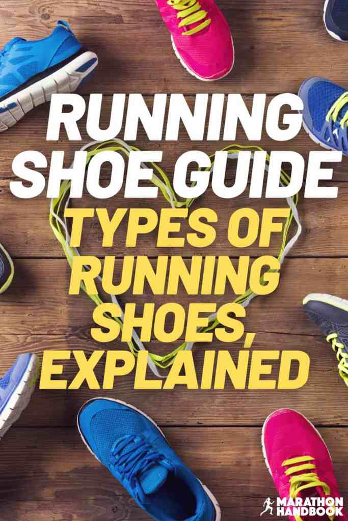 types of running shoes explained