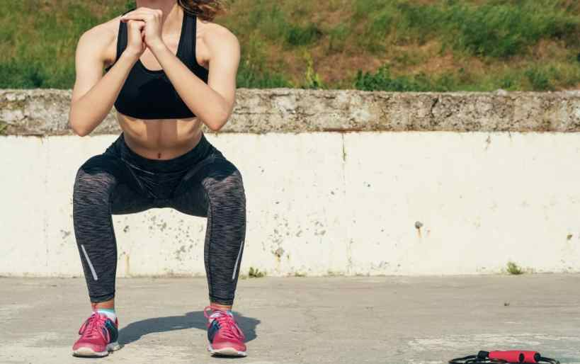 bodyweight exercises for runners squats