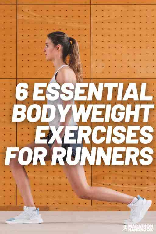 bodyweight exercises for runners pin