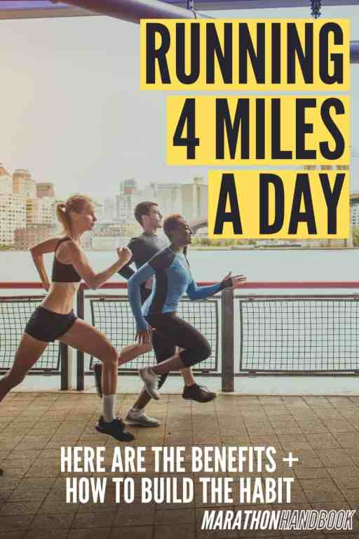 running 4 miles a day
