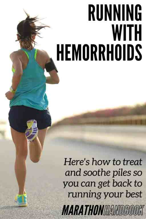 running with hemorrhoids