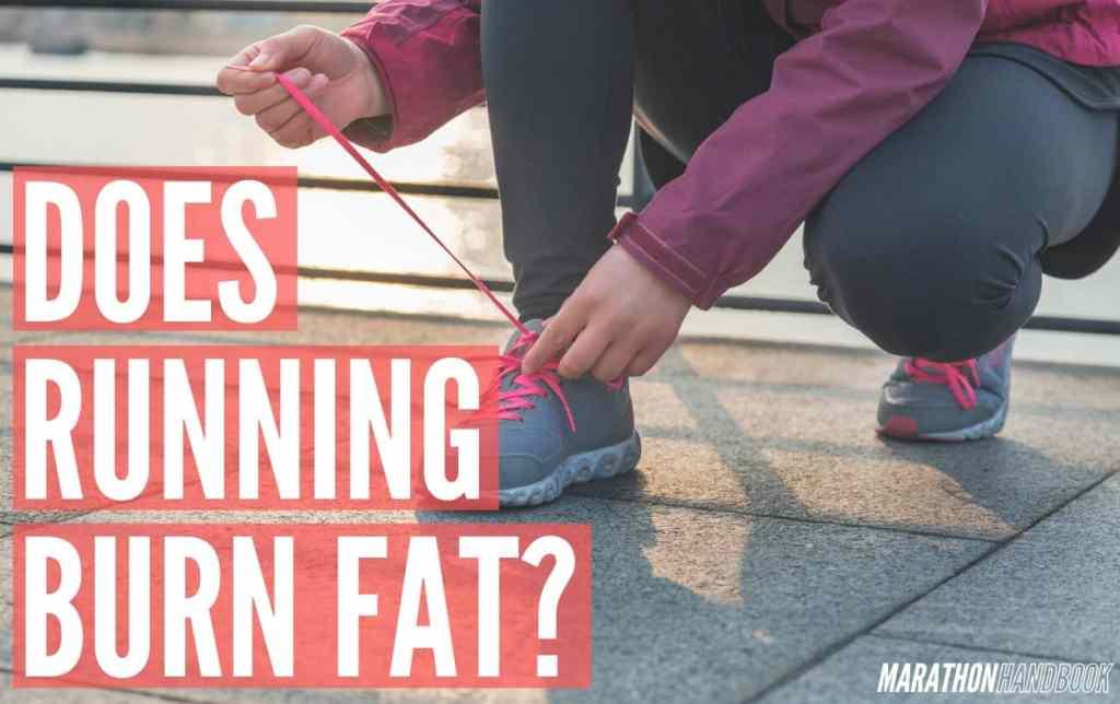 does running burn fat
