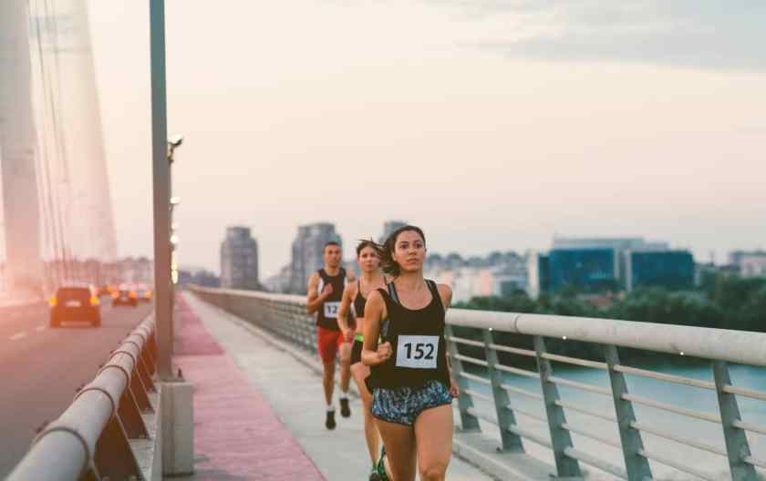 chafing and running