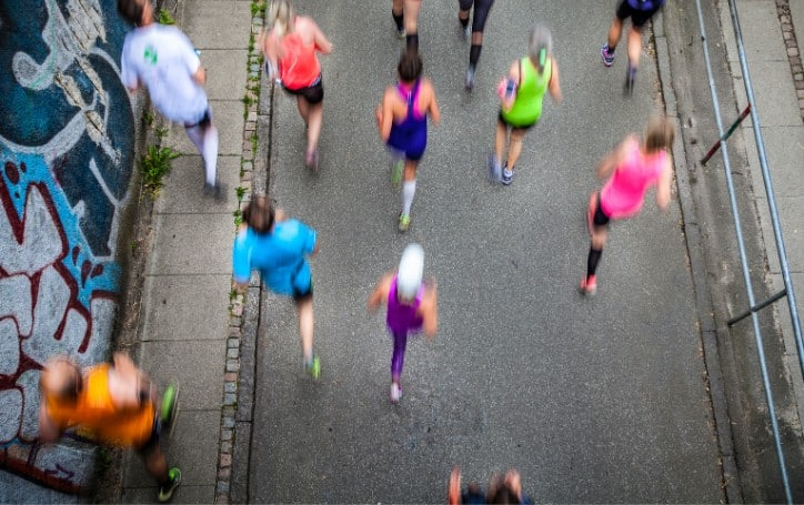 What does running do to your body?