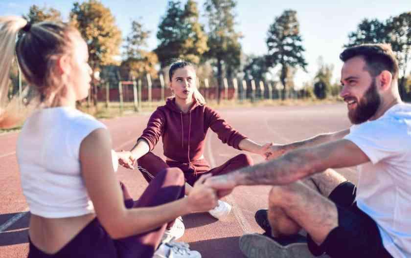 running meditation