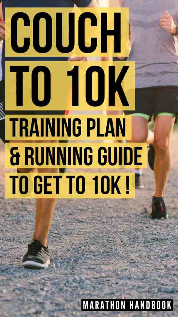 couch to 10k training program