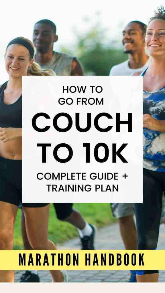couch to 10k training plan