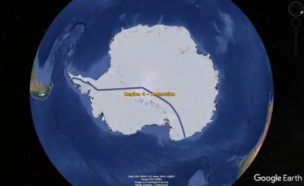 Circumpolar Race Around the World (CRAW): The Virtual Global Relay Run 1