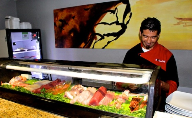 Astounding Sushi In A Walmart Mall In Cabo San Lucas