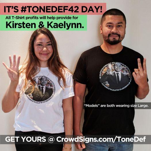 Mental Health: #TONEDEF42 #LETSTALKABOUTIT Shirts