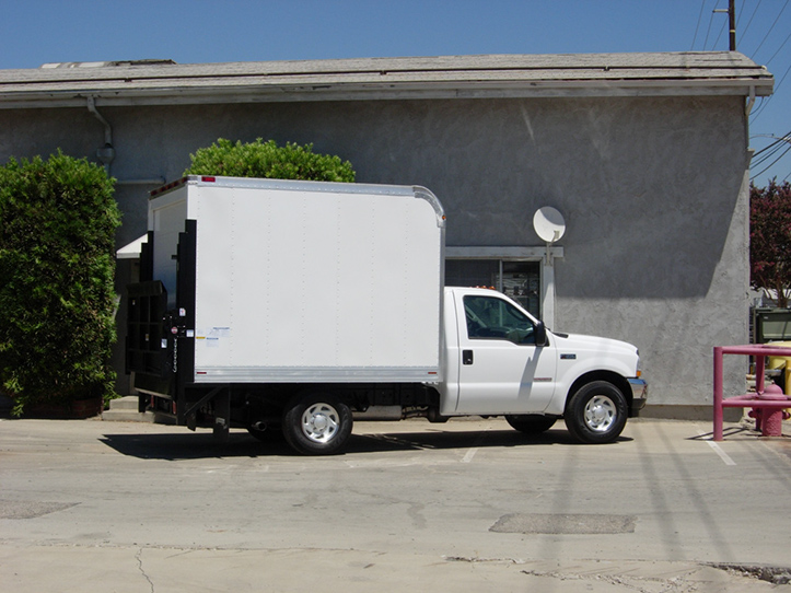 Dry Freight Aluminum Marathon Truck Body