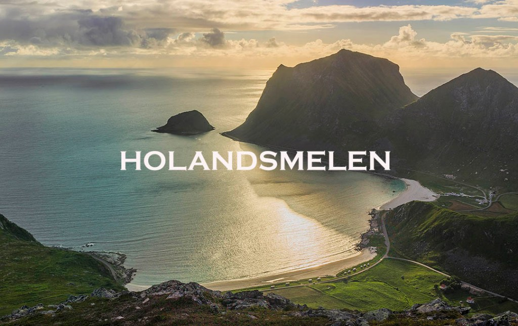 holandsmelen, lofoten, norway