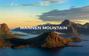 mannen mountain, lofoten, norway
