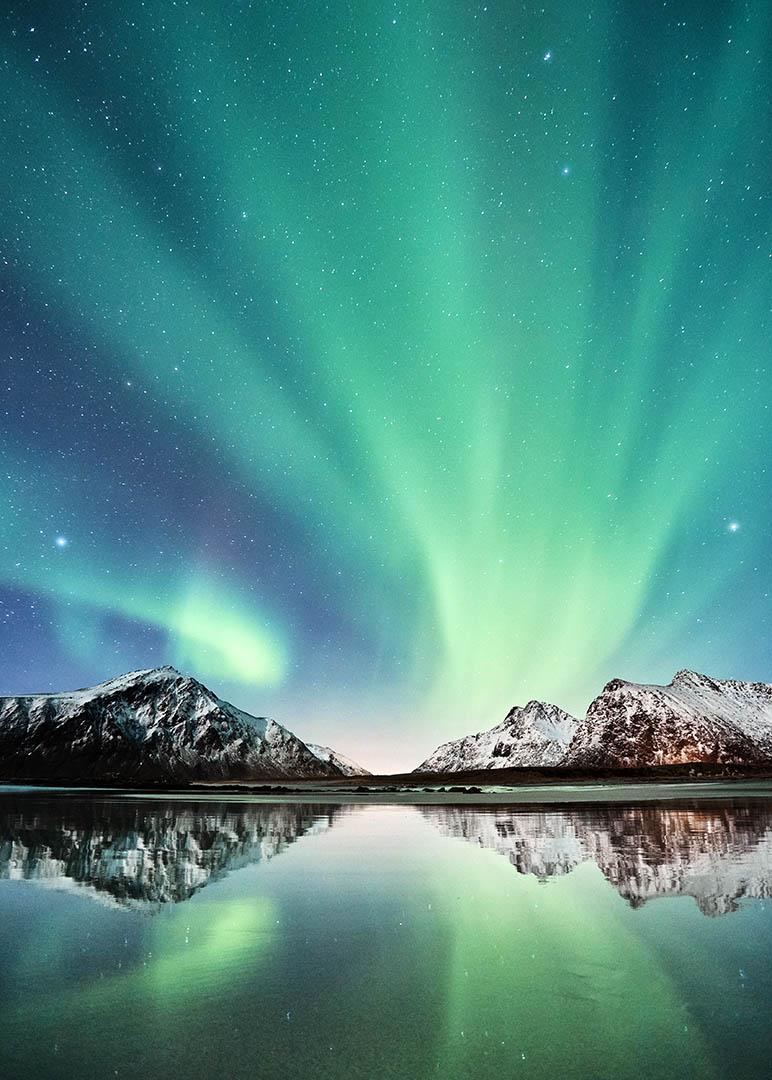 Aurora Borealis over Lofoten