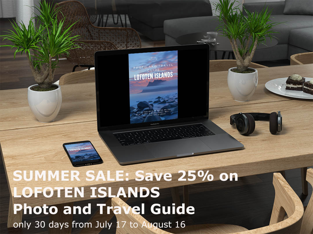Lofoten Islands 25% Sale on Lofoten Islands Photo and Travel Guide
