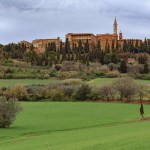 Pienza the ancient Tuscan town