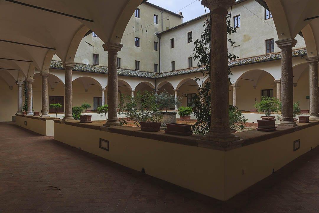 Pienza. San Francesco