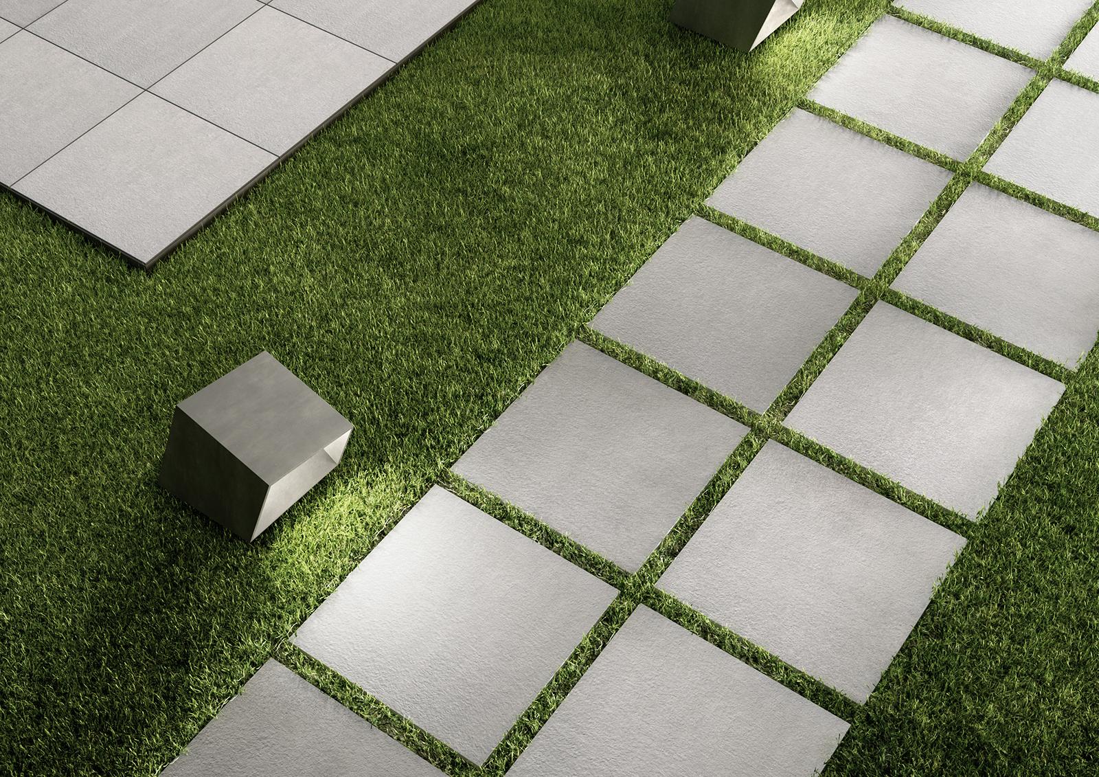 Piastrelle esterno grigio pavimento esterno schiefer antracite