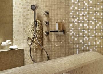 Piastrelle per bagno effetto mosaico collezione game mosaici di