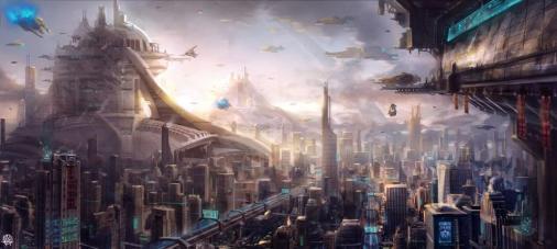 Concept Art Futuristic Cities (162)