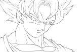 goku coloring pages (7)